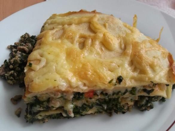 Spinat Pfannkuchen Torte Von Bibimix Ein Thermomix Rezept Aus Der