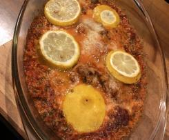 Zitronen-Kräuter-Hühnchen (Low Carb)