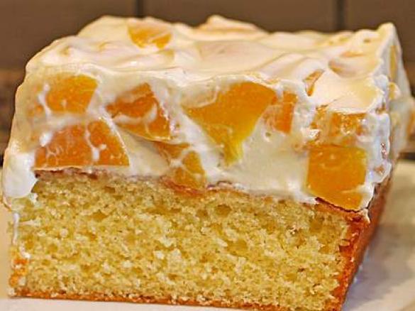 Mandarinen Schmand Blech Von Jaqui H Ein Thermomix Rezept Aus Der