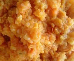 Risotto mit Süßkartoffeln (ohne Alkohol)