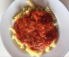 Tomatensauce für Spirellis
