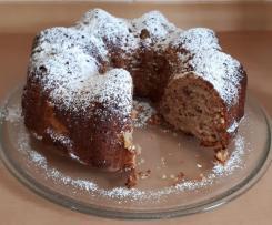 Apfel-Walnuss Kuchen mit Zimt