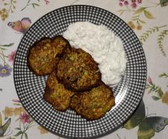 Möhren - Zucchini  Puffer