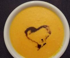 Möhren-Orangen-Cremesuppe (Variation)