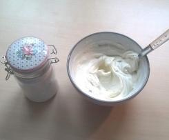Vaniljekesam - norwegischer Vanillequark (low carb)
