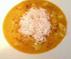 Kartoffel-Tomaten-Curry