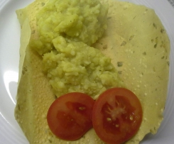 Veganes asiatisches Blumenkohl-Linsen-Curry