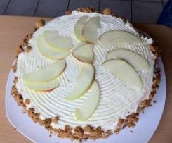 Apfel-Tiramisu-Torte
