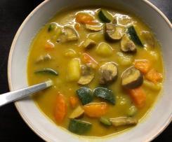 Gemüse Kokos Eintopf - vegan