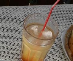 Pfirsich-Eistee-Konzentrat