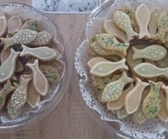 Kekse in Fischform
