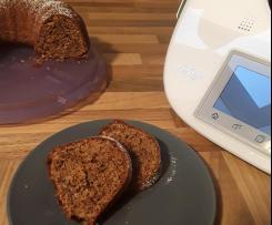 Schoko-Nuss-Kuchen, saftig