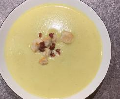 Cremige-Rosenkohlsuppe-nach Art von Willy