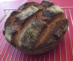 Thusnelda Kruste - Feines Dinkel-Roggen-Vollkorn Brot
