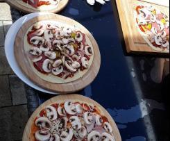 Pizzateig - auch für Grillpizza