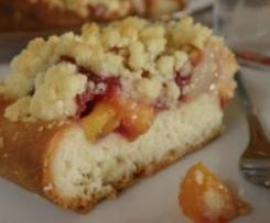 Hefestreuselkuchen mit Obst