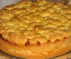 Saftiger Apfelkuchen / Apfeltorte mit Streuseln