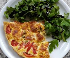 Tomaten-Mozzarella-Tarte