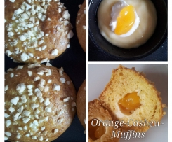 Orange-Cashew-Muffins