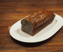 Orangen-Mohn-Marzipan-Kuchen