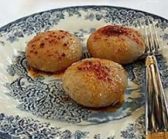 Patates bulgur  Köftesi ( kartoffel Weizebgrütze Frikadelle)