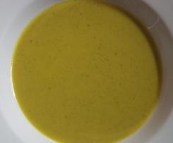 Kürbis-Brokkoli-Cremesuppe