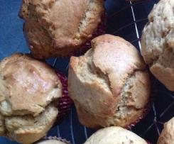 Muffins mit gezuckerter Kondensmilch