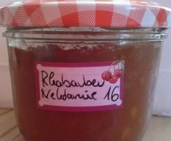 Rhabarine - Rhabarber Nektarine Marmelade