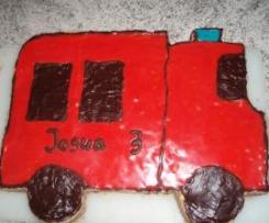 Kinder Geburtstagstorte Motivtorte Feuerwehrauto