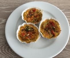 Paprika-Eiermuffins (Schlanke Küche)