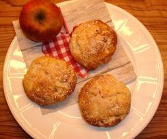 Variation von Apfel Bällchen