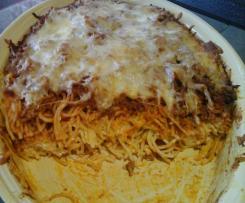 Spaghettiauflauf