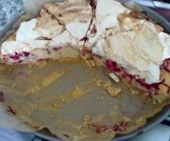 Johannisbeer-Kokos-Kuchen groß