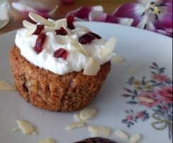 Cranberry Cupcakes Low Carb