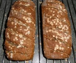 saftiges Brot mit Buttermilch und Soja