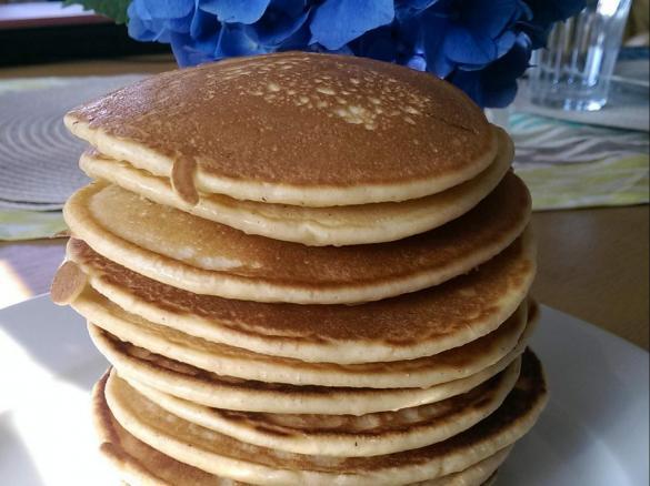 American Pancakes Mega Fluffig Von Isa Thermonixe Ein Thermomix