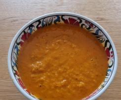 Tomatensuppe mit Thunfisch (kalorienarm)