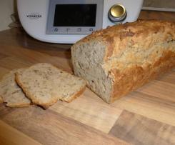 Schnelles Buchweizen-Kamut-Brot