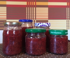 Kiwi-Himbeer-Marmelade