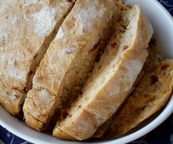 Gegrilltes Tomaten Focaccia Brot nach Lafer
