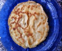 Pfannkuchen locker und fluffig