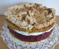 Kirsch-Baiser-Torte