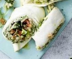 Mozzarella-Wrap mit Rucola