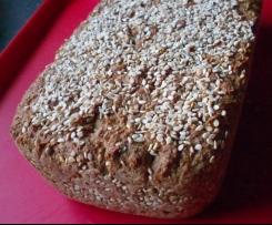 Saftiges 7-Korn-Brot mit Chia und Amaranth