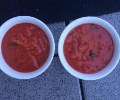 Tomatenbutter zum Grillen oder fürs Brot