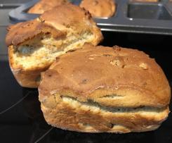 Joghurtbrötchen aus der Mini-Kuchenform