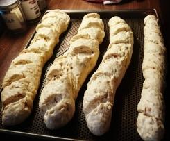 Zwiebel-Baguette