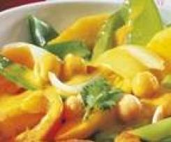 Curry-Kokos-Gemüse