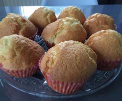 Milchfreie Zitronenmuffins
