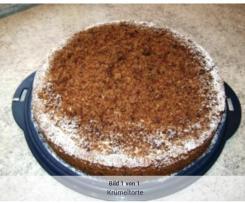 Cappuccino-Krümel-Torte